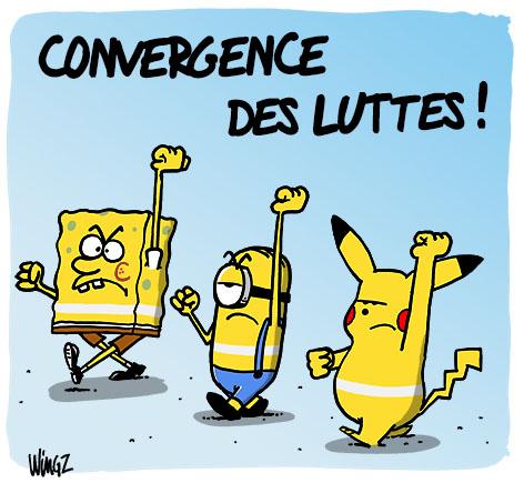 dessin humour gilets jaunes