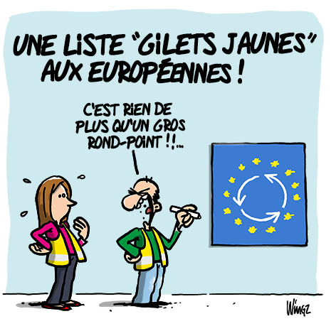 election europeennes gilet jaune