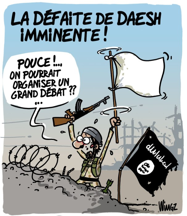 daesh syrie grand débat national humour