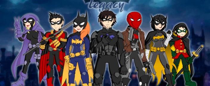 """Batifamilia de """"Batman Family: Legacy"""" (Versión Alternativa)"""