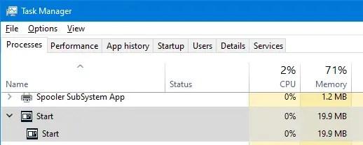 reinstall start menu startmenuexperiencehost start