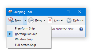 How to Make Snipping Tool Default to New Snip when Launched