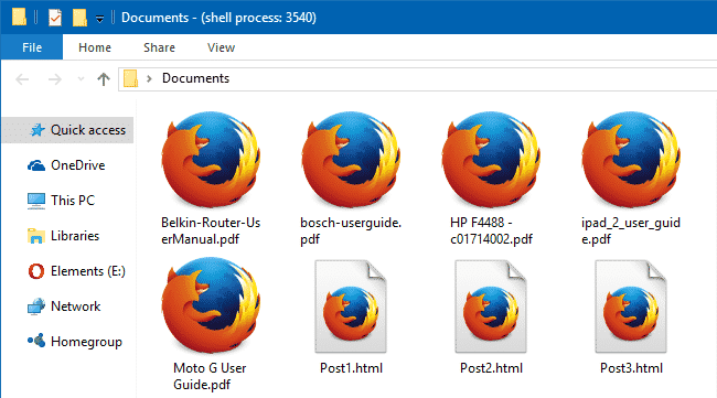 set custom icon for pdf files with firefox as the default pdf viewer