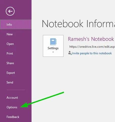 onenote 2016 reset ribbon toolbar