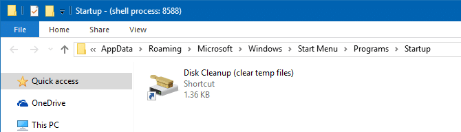 Automatically Clear Temp Files Using Disk Cleanup, Storage