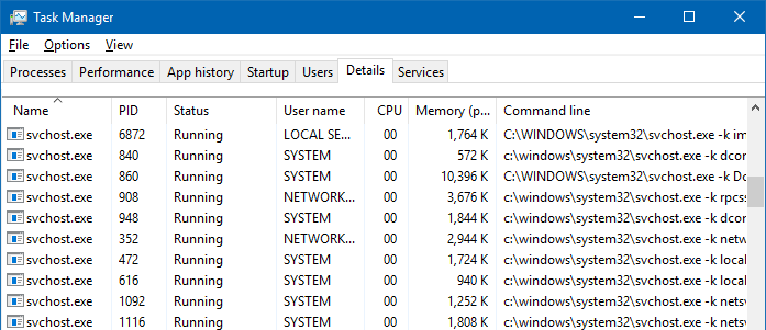 server 2003 windows update svchost 100 cpu