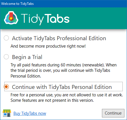 add tabbed ui to explorer