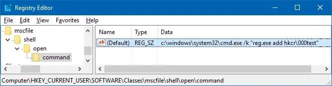 uac bypass exploit eventvwr.exe