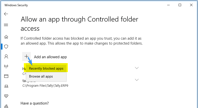 How to Configure Controlled Folder Access to Stop