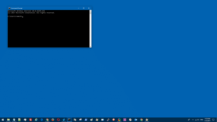 command prompt window size and position