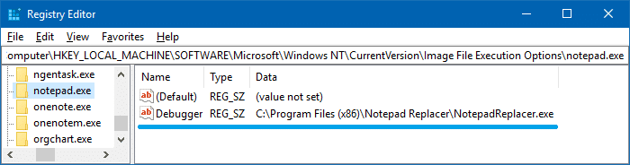 Replace Notepad with Notepad++