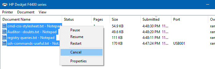 How to Cancel or Delete a Stuck Print Job and Clear Paper Jam