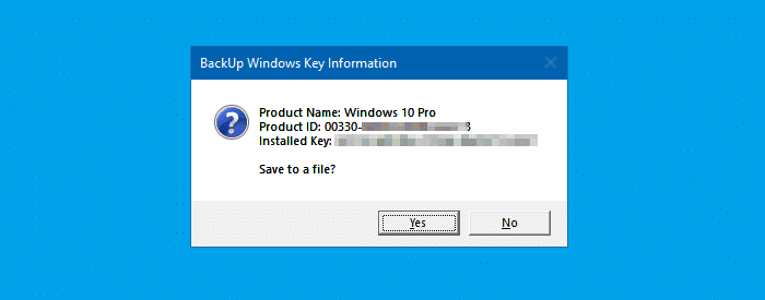 vbscript view product key windows 10