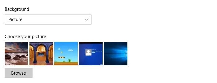 clear desktop wallpaper history