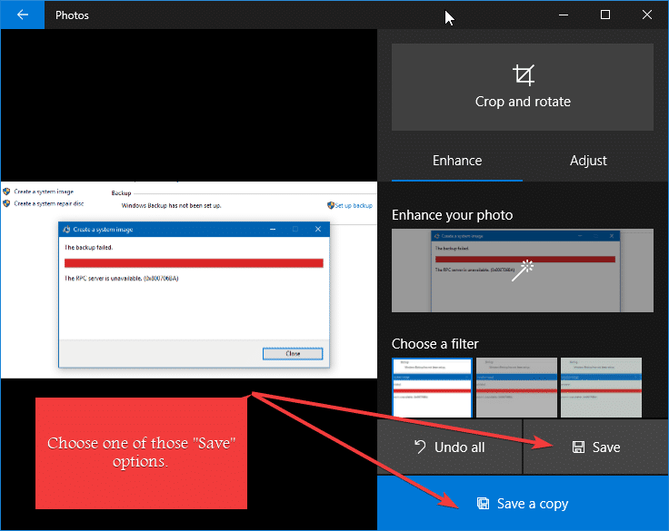 How to Trim or Crop Images in Windows 10 Using Photos App