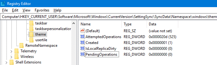 save a theme error - windows can't find