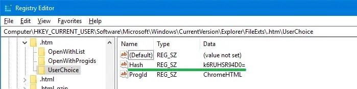 Set Default Browser and File Associations via Command-line