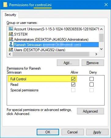 winexit logoff screensaver in windows 10