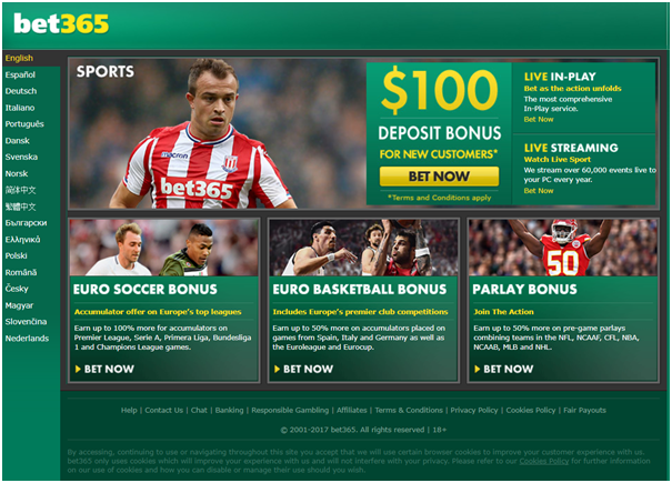 Bet365 online bookie for Indian cricket