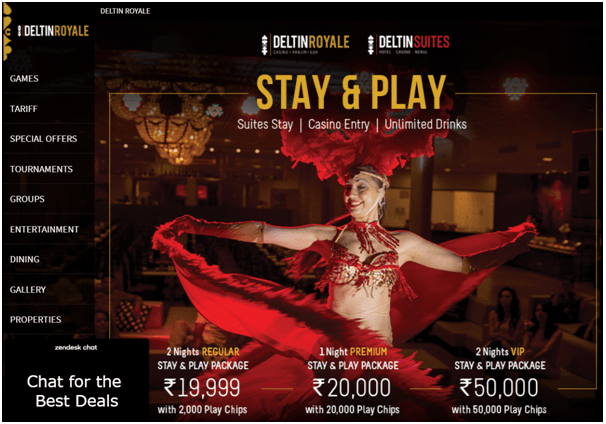 Deltin Royale play high limit craps in India