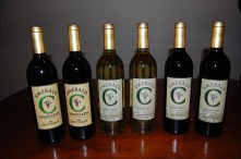 "Emerald ""C"" Vineyards wines we picked up on the Farm Trail"