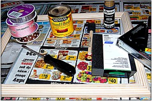 I have all my supplies ready for crafting!