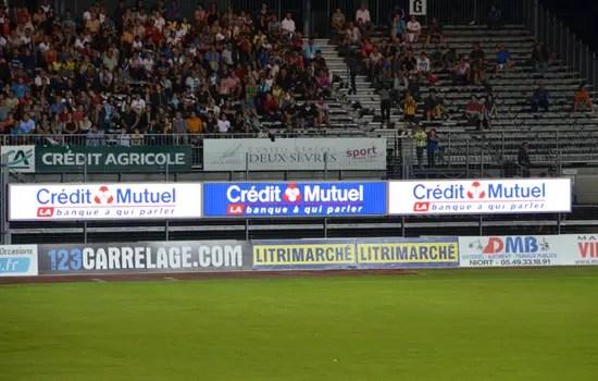 écran sponsor sport
