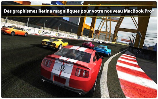real racing 2  course