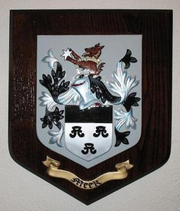 Another example of the 3 bourgots crest