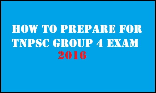 How to prepare for Tnpsc group 4 exam 2016
