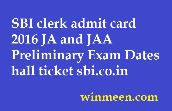 sbi associate clerk admit card download 2014