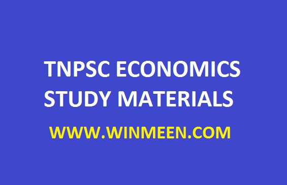 Tnpsc Indian Economy Study Materials Pdf Download - WINMEEN