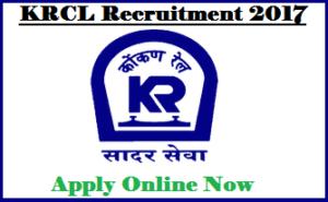 KRCL JE Recruitment 2017