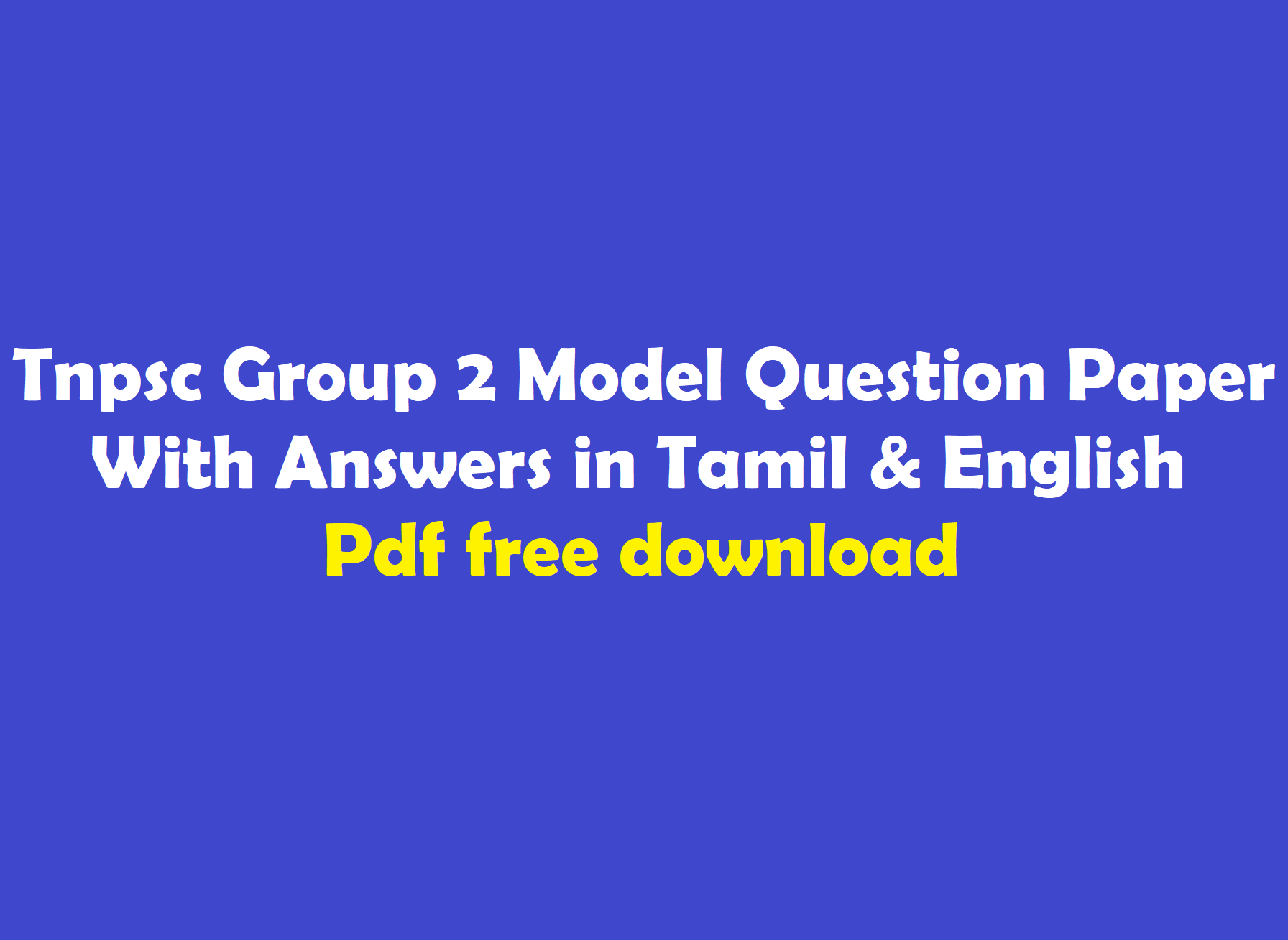 2a question pdf group paper