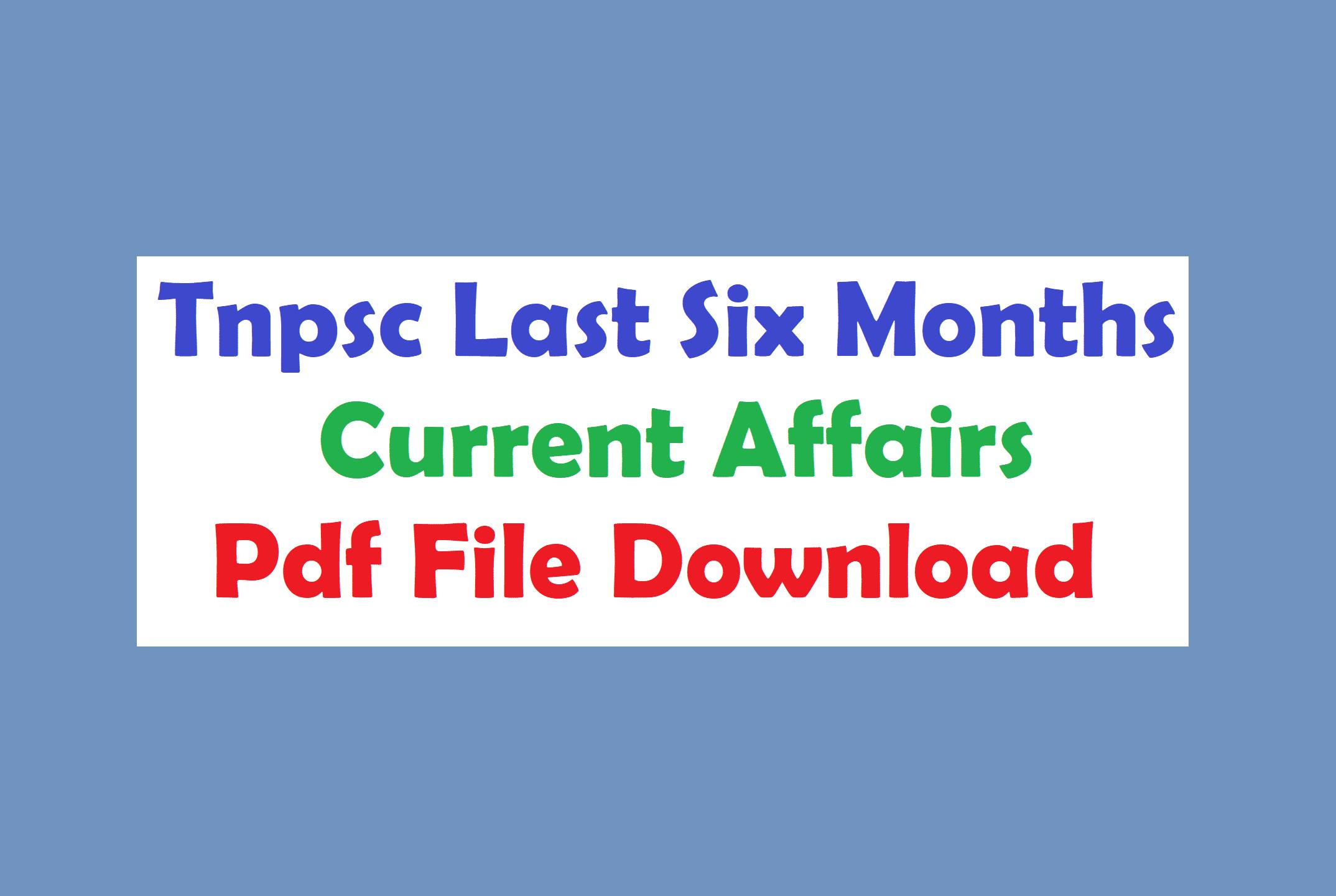 December Month Current Affairs Pdf