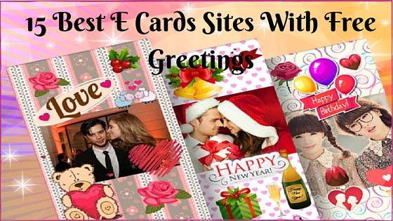15 Best Ecards Websites to send free greetings