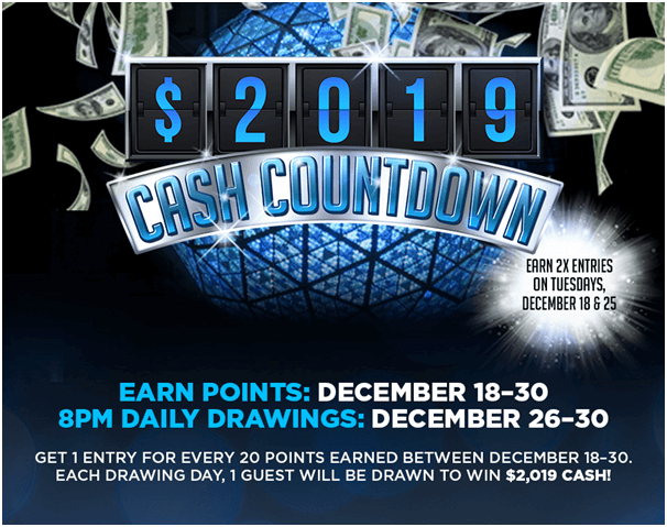 2019 Cash Countdown