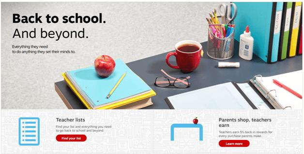 Back to School September deals