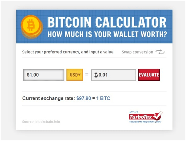 BTC calculator