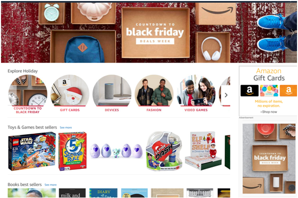 Black Friday Deals with Amazon