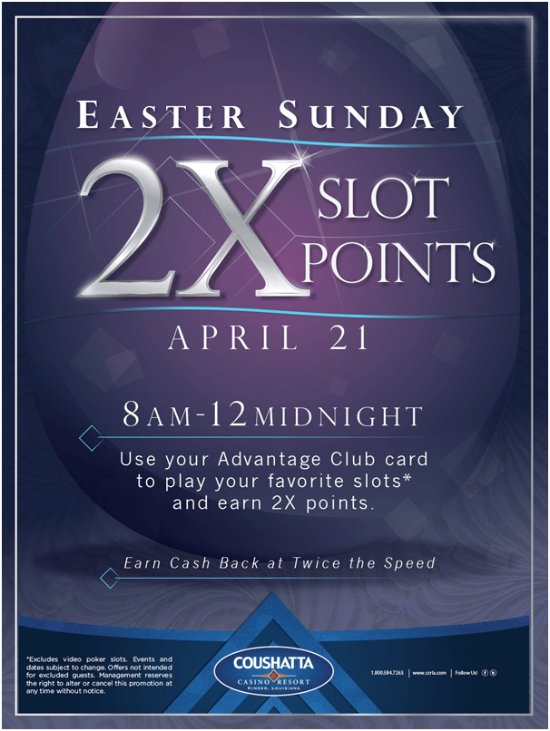 Easter Giveaways at casinos