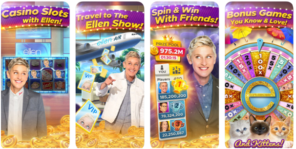 Ellen's Road to Riches slot game