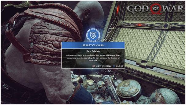 Gods of war- Amulet of kvasir