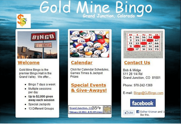 Gold Mine Bingo