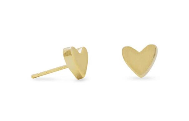 Heart Studs- Valentine Gift