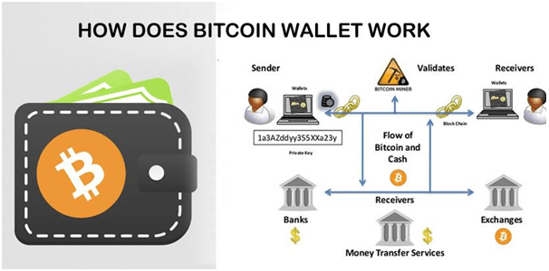 How does BTC wallet work