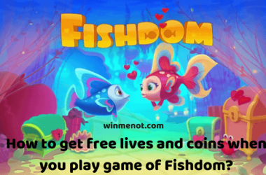 How to get free lives and coins when you play game of Fishdom_