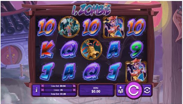 How to play iZombie slot