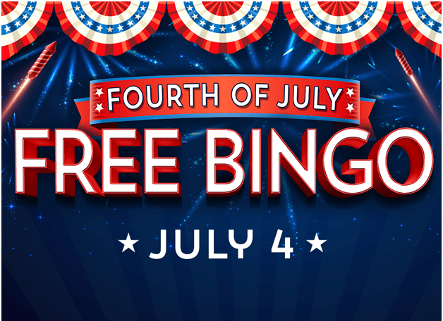 Play Bingo on 4th of July