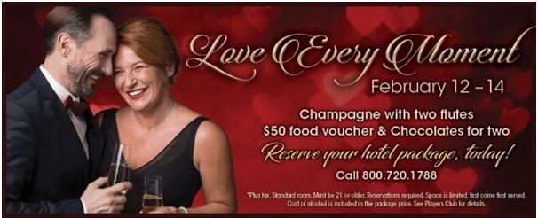 Lucky Eagle Casino Valentine offer